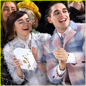 Maisie Williams & Boyfriend Reuben Selby Sit Front Row at Thom Browne Fashion Show!