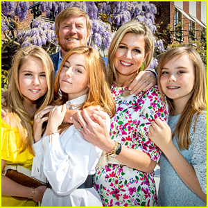 Dutch Princess Catharina Amalia & Sisters Celebrate Kings' Day 2020 With Parents in Netherlands