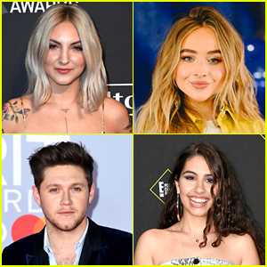 Julia Michaels & JP Saxe Gather Friends Sabrina Carpenter, Niall Horan & More For 'If The World Was Ending' - Watch!