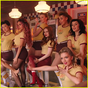 Vanessa Morgan & Madelaine Petsch Sing 'Sugar Daddy' From This Week's 'Riverdale' - Watch Now!