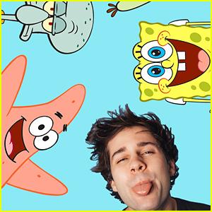 David Dobrik To Host 'The Stars Of SpongeBob Fan Favorites Special'