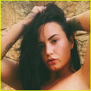 Demi Lovato Shares a Hot Series of Swimsuit Pics & BF Max Ehrich Reacts!