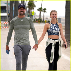 James Maslow & Girlfriend Caitlin Spears Look So Cute Together at the Boardwalk!