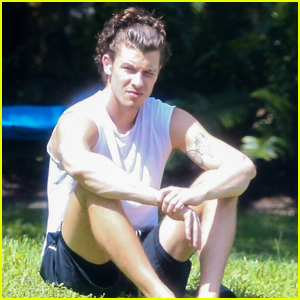 Shawn Mendes Enjoys Some Time Out in the Sun