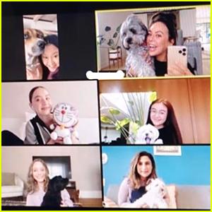 Lana Condor & 'To All The Boys' Ladies Have Virtual Reunion!