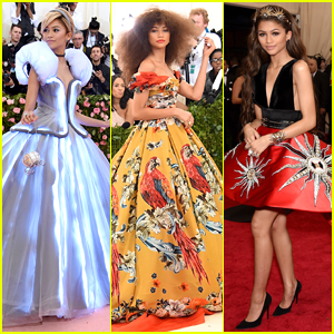 Zendaya at the Met Gala Through The Years - See All of Her Looks!