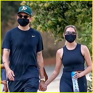 Ashley Benson Goes for a Hike with New Boyfriend G-Eazy!