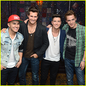Big Time Rush Reunite For Virtual, Acoustic Performance of 'Worldwide' - Watch Now!