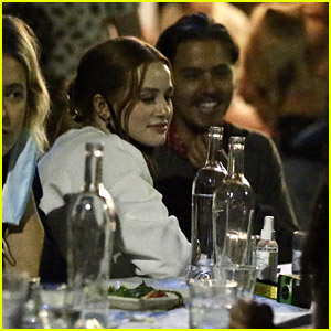 Madelaine Petsch Dines Out With 'Riverdale' Co-Star Cole Sprouse