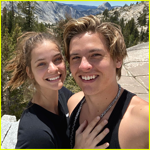 Dylan Sprouse & Barbara Palvin Celebrate 2 Year Anniversary With Cute New Selfie