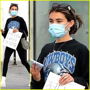 Madison Beer Thanks Fans For Concern After Being Tear Gassed While Protesting