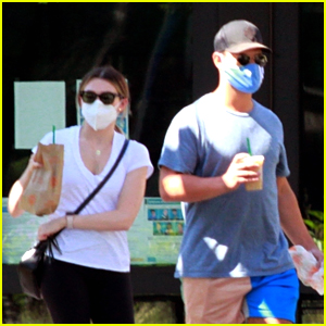 Taylor Lautner & Girlfriend Tay Dome Lunch Out Together In LA