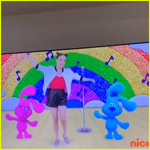 Ally Brooke Cries While Watching Herself on 'Blues Clues & You'