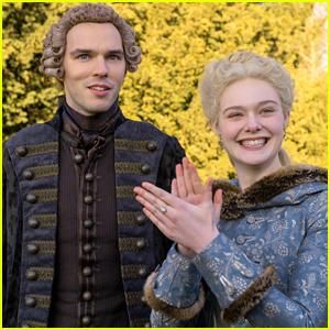 Elle Fanning & Nicholas Hoult's 'The Great' Renewed For Season 2 on Hulu!
