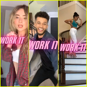 Sabrina Carpenter, Jordan Fisher & Liza Koshy Reveal 'Work It' Release Date With Fun Dance Video
