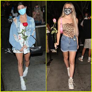 Charli D'Amelio & Madi Monroe Have Girls' Night Out