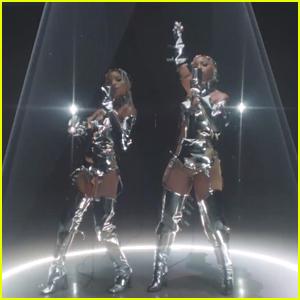 Chloe x Halle Slay Their 'Ungodly Hour' Performance at MTV VMAs Pre-Show