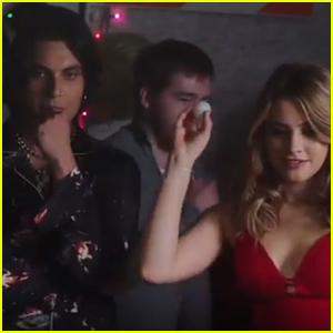 Josephine Langford Plays Beer Pong With Samuel Larsen In 'After We Collided' Clip