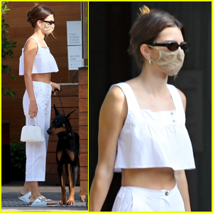 Kendall Jenner Spends the Afternoon at Lunch with Friends