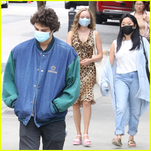 Lana Condor, Noah Centineo & Madeleine Arthur Grab Lunch Together in Vancouver