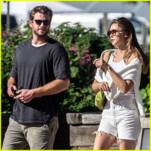 Liam Hemsworth & Girlfriend Gabriella Brooks Go On a Lunch Date in Australia
