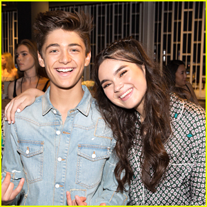 Longtime Pals Asher Angel & Landry Bender Have a Lake Day With Their Families