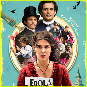 Millie Bobby Brown Shares New 'Enola Holmes' Movie Poster