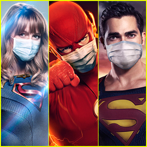 Supergirl, The Flash & More Wear Masks On New DC Universe Character Posters