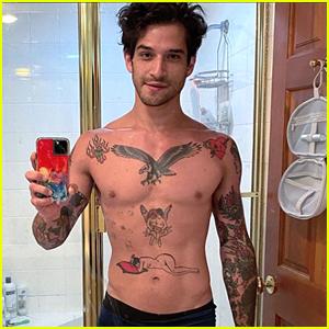 Teen Wolf's Tyler Posey Shows Off Body In New Underwear Selfie