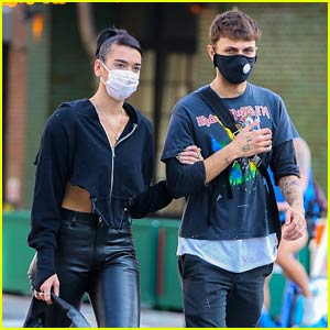 Dua Lipa Steps Out for Date Night with Anwar Hadid