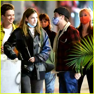 Dylan Sprouse Spotted at Dinner with Barbara Palvin & Friends in New York City (Photos)