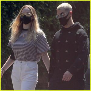 Joe Jonas & Sophie Turner Make First Outing Since Welcoming Their Baby Girl!