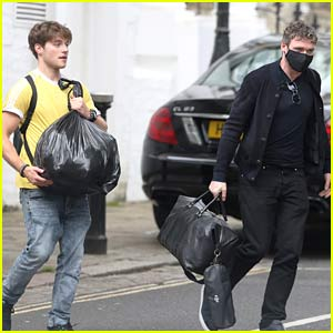 Froy Gutierrez Spotted in London with Richard Madden