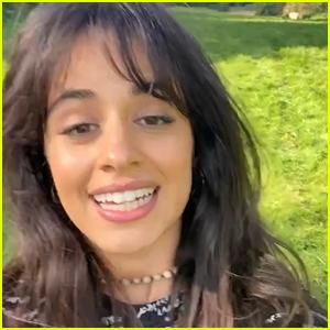 Camila Cabello Wraps Filming On 'Cinderella,' Shares Cute Wrap Video!