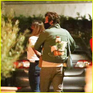 Harry Styles Joins a Friend for a Dinner in LA