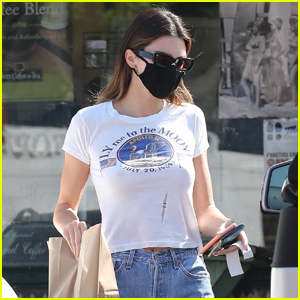 Kendall Jenner Steps Out in Malibu for Lunch Outing