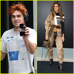 KJ Apa FaceTimes With Cole Sprouse, Days Before GF Clara Berry Attends Paris Fashion Week