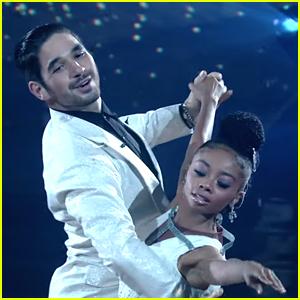 Skai Jackson Dedicates 'Dancing With The Stars' Foxtrot To The Late Cameron Boyce