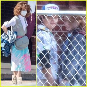 'Stranger Things' Cast Returns to Work on Season 4 - See Photos!