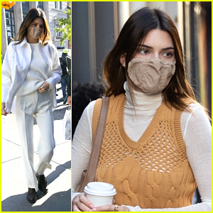 Kendall Jenner Rocks Two Chic Looks Out In NYC Ahead of Thanksgiving Week