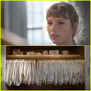 Taylor Swift Has a Closet Full of Cardigans In New Capital One Commercial
