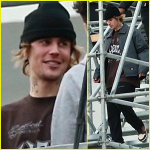 Justin Bieber Practices for His Upcoming NYE Show