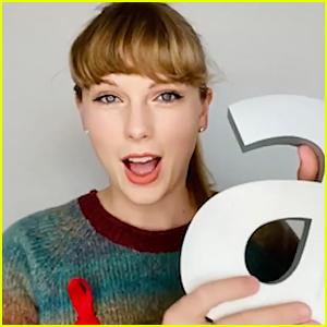 Taylor Swift Wins Icon Award at Virgin Atlantic Attitude Awards 2020!