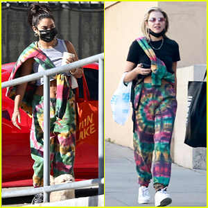 Vanessa Hudgens & GG Magree Wear Same Tie-Dye Sweats Within Days of Each Other