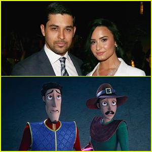 Demi Lovato & Wilmer Valderrama's 'Charming' Movie Finally Debuts In The US