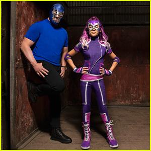 Disney Channel Picks Up New Superhero Comedy Series 'Ultra Violet & Blue Demon'!