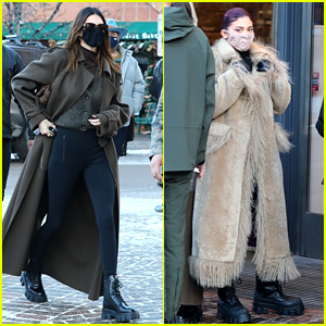 Kylie Jenner Goes Shopping in Aspen with Kendall on New Year's Day