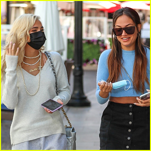 After We Collided's Pia Mia & Inanna Sarkis Reunite For Brunch!