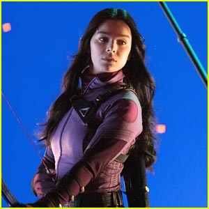 Hailee Steinfeld Is Back On 'Hawkeye' Set In First New Photos of the Year!