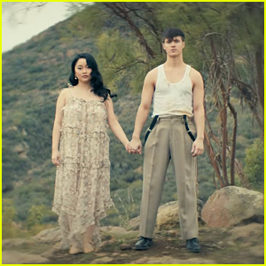 Lana Condor & Anthony De La Torre React To Their New 'Anyone Else But You' Music Video